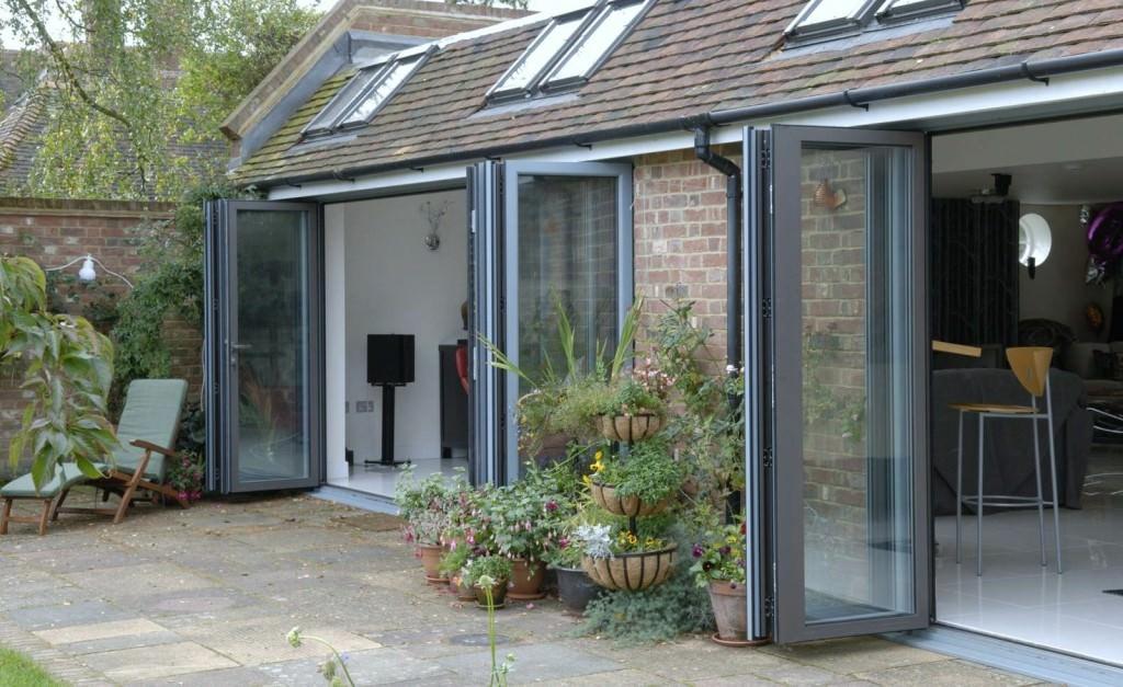 Aluminium Bi-Folding Doors Southampton