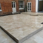 Patio Area House Project Southampton