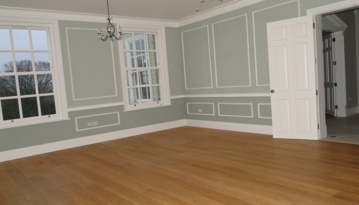 Flooring, plastering, painting and decorating