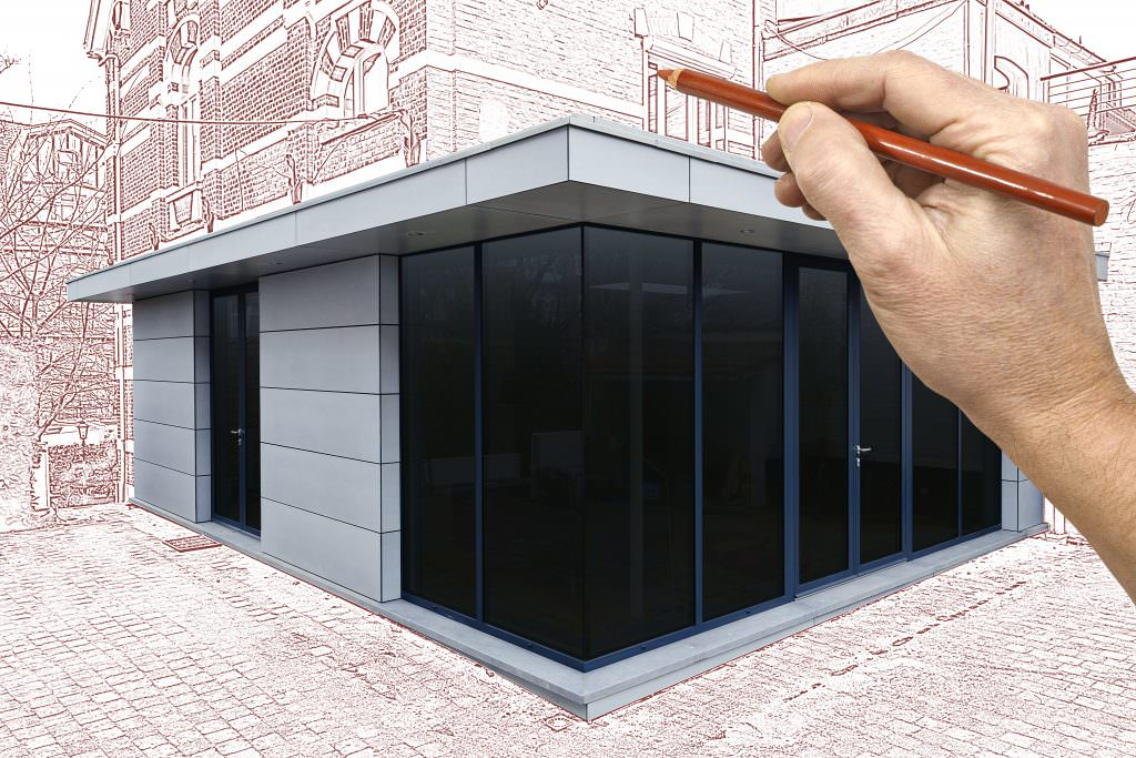 Glazed Extension Design